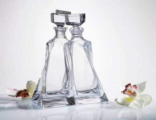 Entwined Crystal Decanters - Engraved